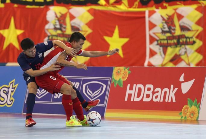 Futsal Việt Nam tiếp tục bị Thái Lan lấn lướt - Ảnh 2.