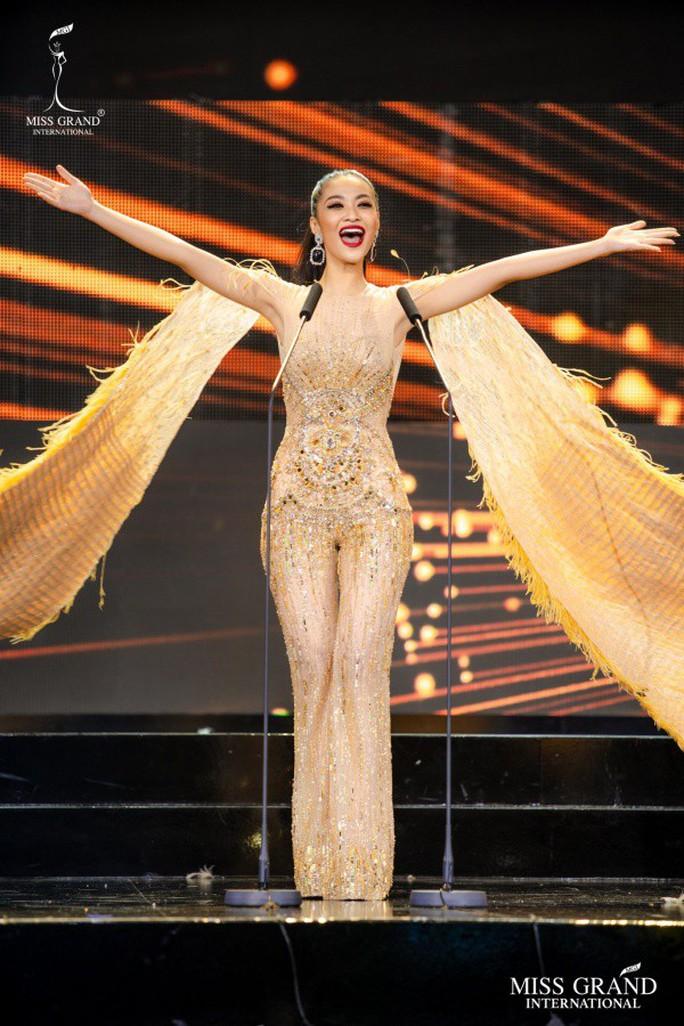 Người đẹp Venezuela đăng quang Hoa hậu Hòa bình Quốc tế 2019 - Ảnh 1.