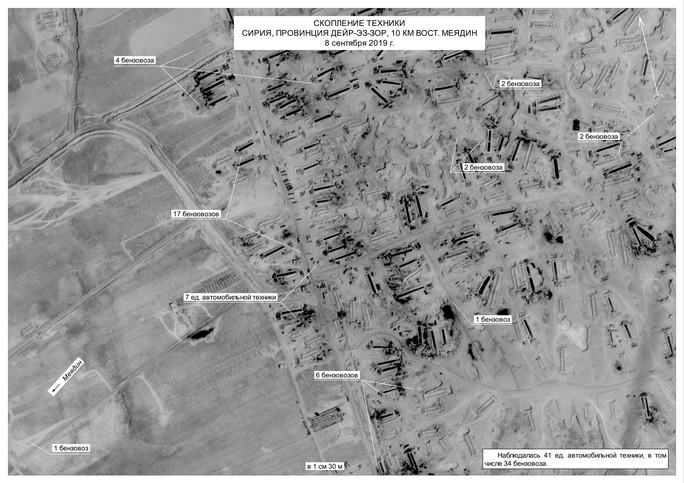 Nga tung bằng chứng Mỹ giúp buôn lậu dầu ra khỏi Syria - Ảnh 3.