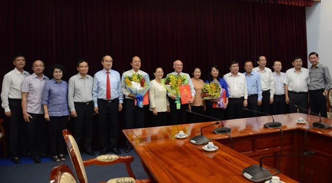 Ban Bí thư chuẩn y 3 ủy viên Ban Thường vụ Thành ủy TP HCM - Ảnh 1.