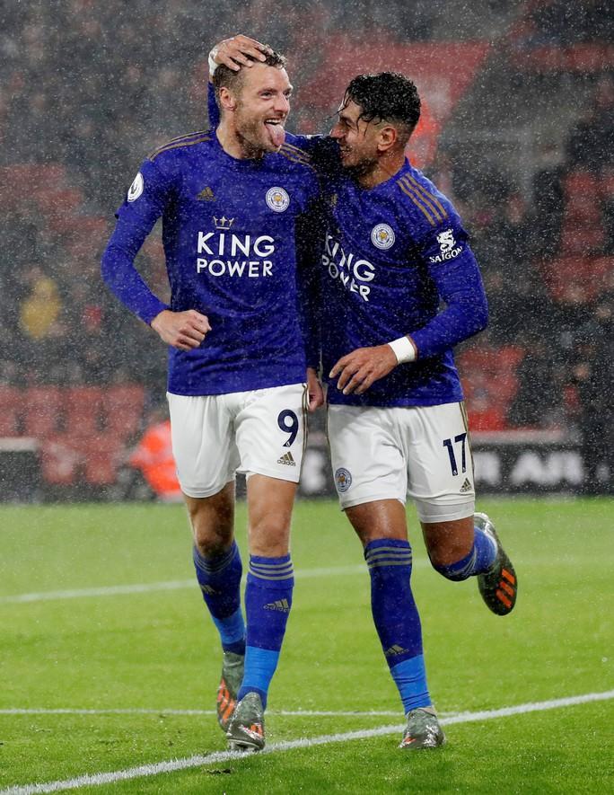Hạ Southampton 9-0, Leicester tạo địa chấn sân cỏ Ngoại hạng Anh - Ảnh 6.