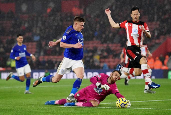 Hạ Southampton 9-0, Leicester tạo địa chấn sân cỏ Ngoại hạng Anh - Ảnh 1.