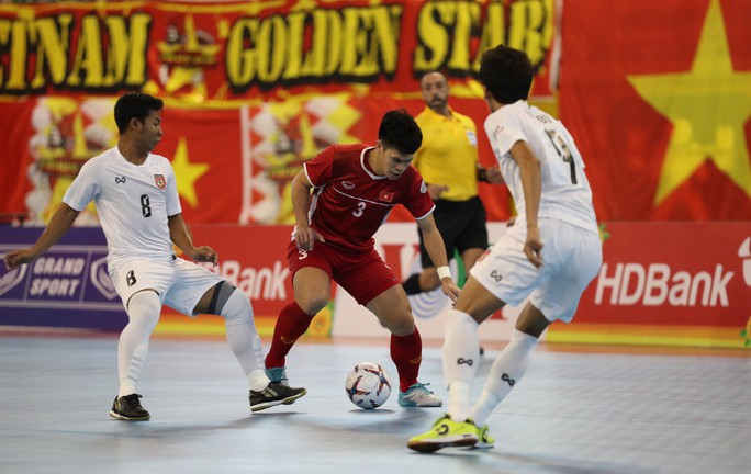 Đánh bại Myanmar, Việt Nam giành suất dự VCK Futsal châu Á 2020 - Ảnh 3.