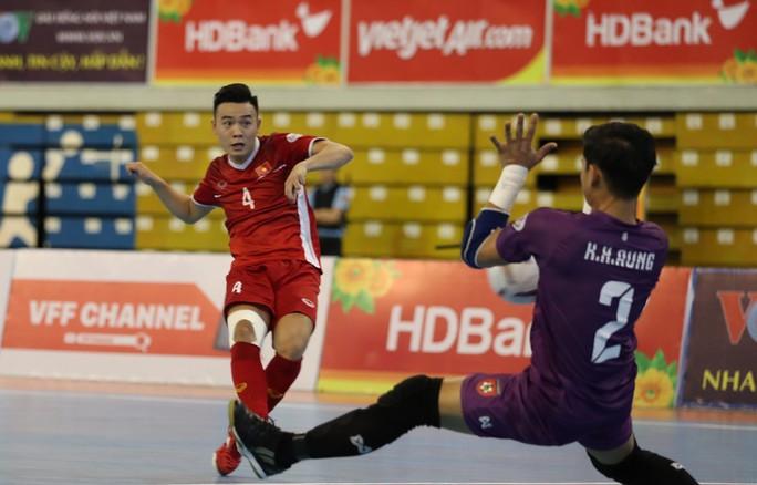 Đánh bại Myanmar, Việt Nam giành suất dự VCK Futsal châu Á 2020 - Ảnh 1.