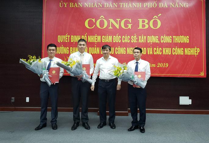 Đà Nẵng bổ nhiệm 2 giám đốc sở - Ảnh 1.