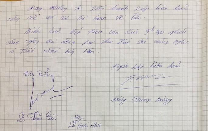Đơn xin ở lại lớp gửi Bộ trưởng Bộ GD-ĐT là giả mạo - Ảnh 2.