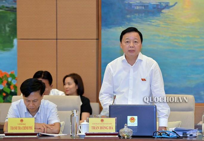 Bộ trưởng Trần Hồng Hà đề nghị giảm đại biểu Quốc hội thuộc cơ quan hành pháp - Ảnh 1.