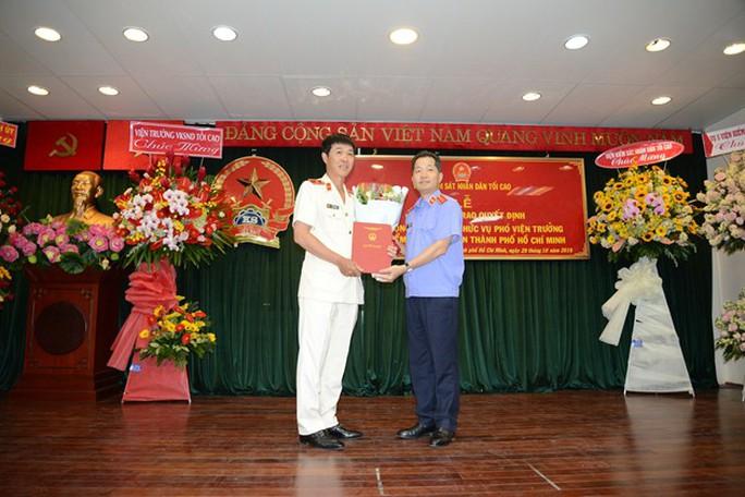 VKSND TP HCM có tân phó viện trưởng - Ảnh 1.