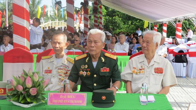 Khánh thành Tượng đài sự kiện tập kết 1954 tại Đồng Tháp - Ảnh 5.