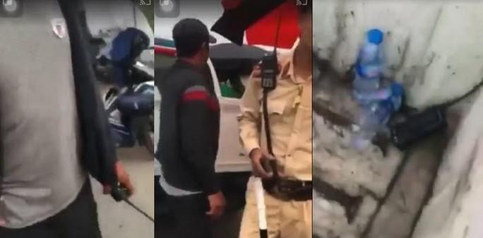 CLIP: Xác minh thông tin người lạ mặt tại chốt CSGT hành hung người dân ghi hình - Ảnh 3.