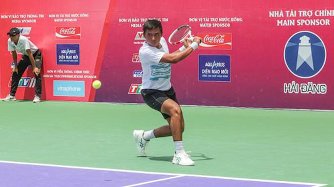 Lý Hoàng Nam vào tứ kết ITF World Tennis Tour M25 - Ảnh 1.