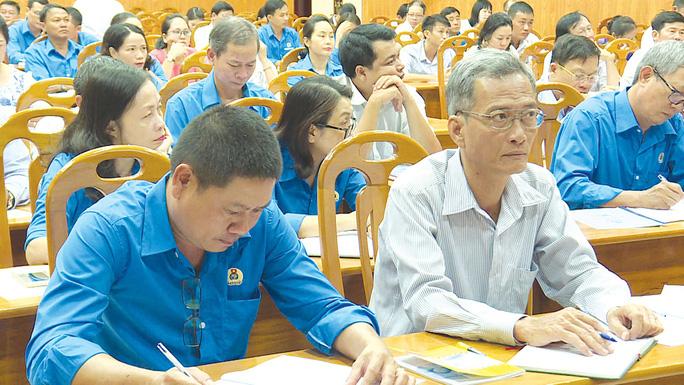 Bình Thuận: Nâng cao kiến thức cho cán bộ Công đoàn - Ảnh 1.