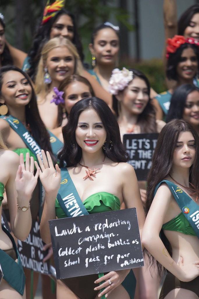 Hoang mang với nhan sắc nhiều thí sinh Hoa hậu Trái Đất 2019 - Ảnh 1.