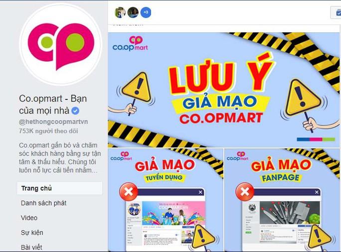 Coi chừng sập bẫy lừa mua hàng qua Facebook Co.opmart giả mạo - Ảnh 1.