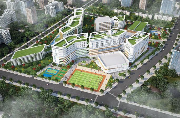 Chi hơn 2.400 tỉ đồng xây cơ sở 2 Trường ĐH Y khoa Phạm Ngọc Thạch - Ảnh 1.
