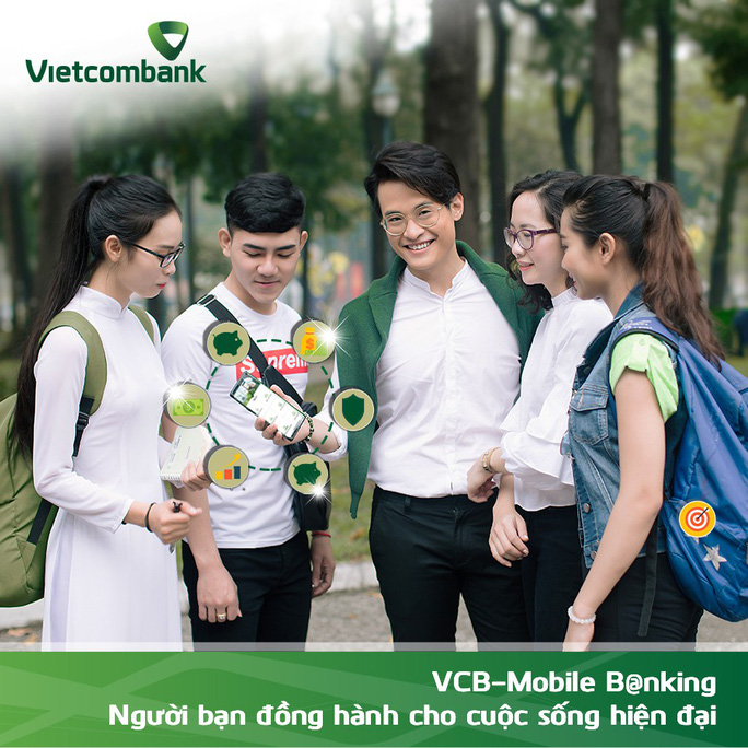 """Vietcombank """"chào sân"""" tính năng mới của VCB-Mobile B@nking - Ảnh 1."""
