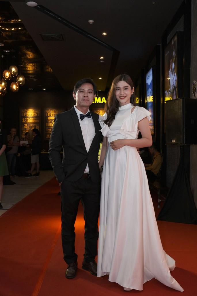 Dương Cường, Thái Ngân đẹp đôi trên thảm đỏ - Ảnh 7.