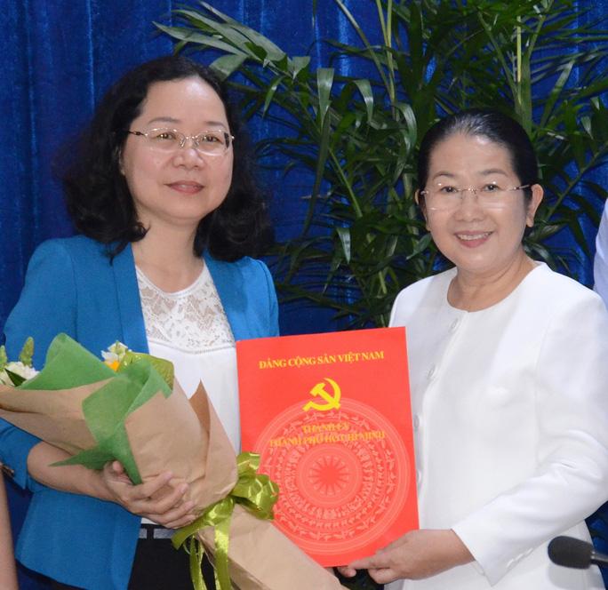 Bà Thái Thị Bích Liên giữ chức Bí thư Quận ủy quận 4 - Ảnh 1.
