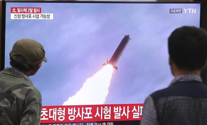 Triều Tiên phóng tên lửa sau khi đàm phán đình trệ - Ảnh 1.