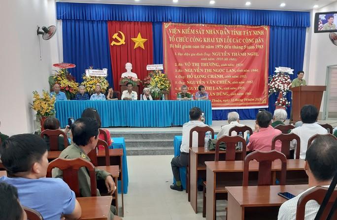 VKS Tây Ninh xin lỗi 7 người trong gia đình bị oan sai suốt 40 năm - Ảnh 1.