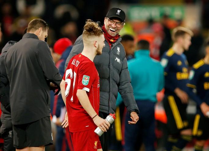 Rượt đuổi 10 bàn thắng, Liverpool hạ Arsenal ở cúp Liên đoàn - Ảnh 7.