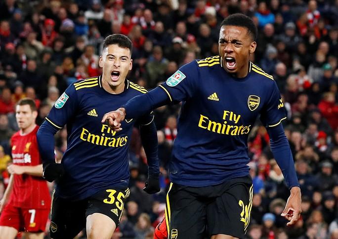 Rượt đuổi 10 bàn thắng, Liverpool hạ Arsenal ở cúp Liên đoàn - Ảnh 3.