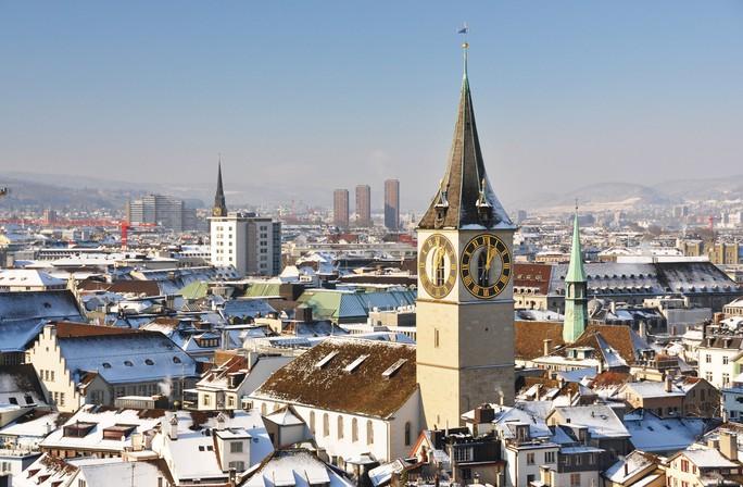 Vẻ đẹp Thụy Sĩ vào mùa đông  - Ảnh 3.