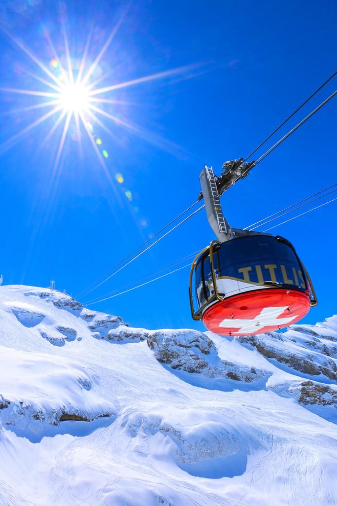 Vẻ đẹp Thụy Sĩ vào mùa đông  - Ảnh 6.