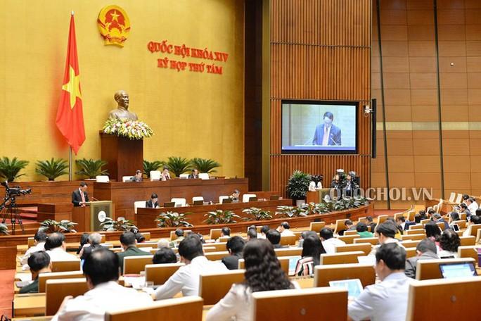 Quốc hội thảo luận về kinh tế - xã hội và ngân sách nhà nước tại hội trường - Ảnh 1.