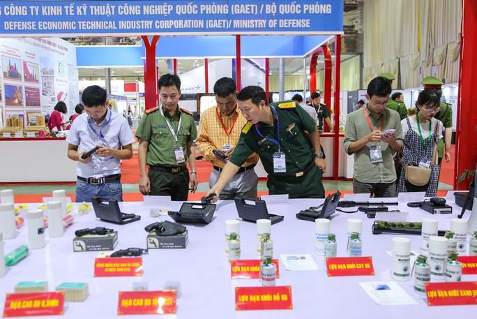Cận cảnh dàn vũ khí tối tân tại Triển lãm quốc tế về quốc phòng và an ninh DSE Vietnam 2019 - Ảnh 3.