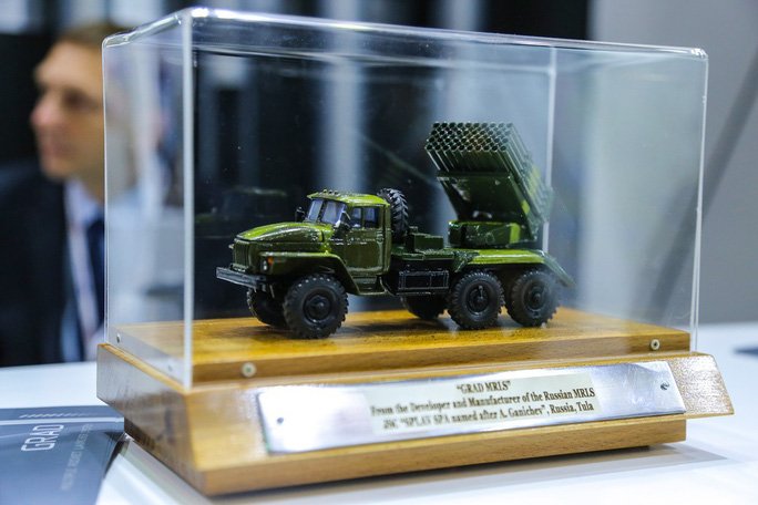 Cận cảnh dàn vũ khí tối tân tại Triển lãm quốc tế về quốc phòng và an ninh DSE Vietnam 2019 - Ảnh 11.