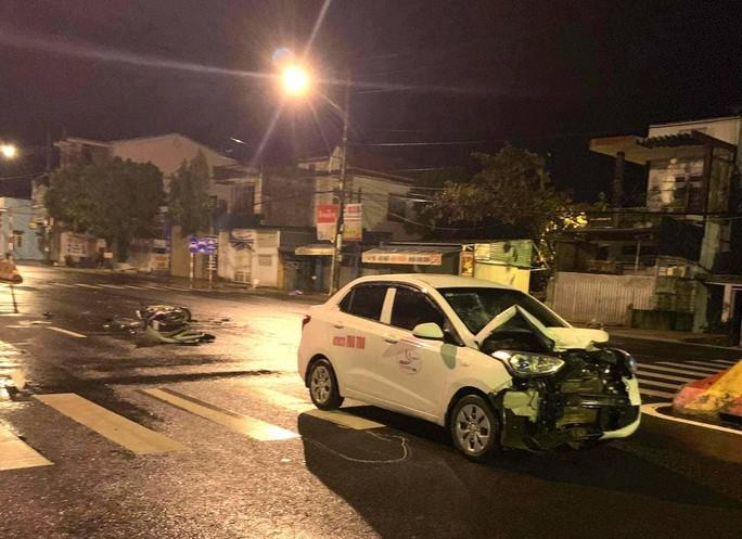 Tai nạn trên đường, 1 trung úy công an tử vong - Ảnh 1.