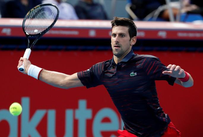 Giành chiến thắng thứ 46 trong năm, Djokovic vô địch Nhật Bản mở rộng - Ảnh 2.