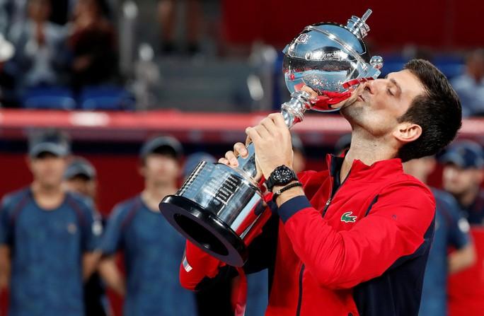 Giành chiến thắng thứ 46 trong năm, Djokovic vô địch Nhật Bản mở rộng - Ảnh 10.
