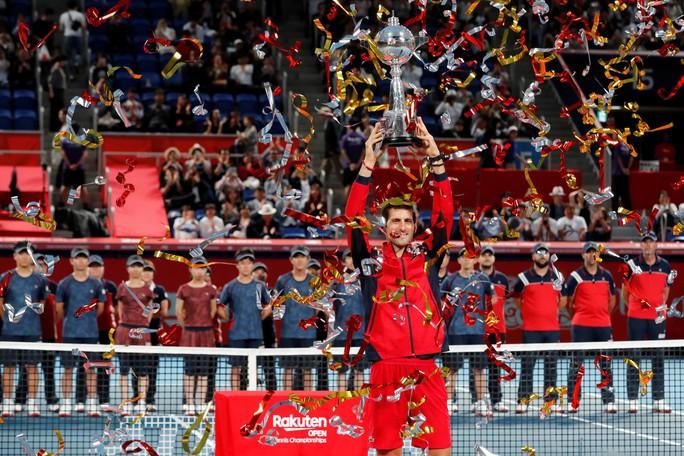 Giành chiến thắng thứ 46 trong năm, Djokovic vô địch Nhật Bản mở rộng - Ảnh 8.