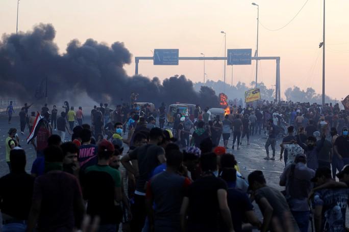 Iraq rúng động vì biểu tình đẫm máu - Ảnh 1.