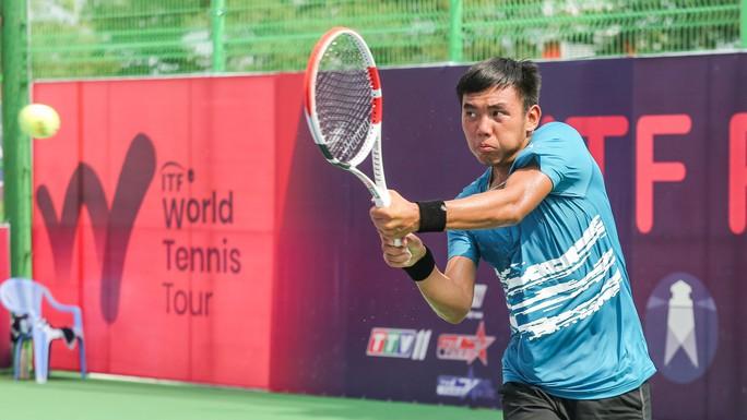 Thua hạt giống số 1, Hoàng Nam sớm chia tay ITF World Tennis Tour M25 - Ảnh 1.
