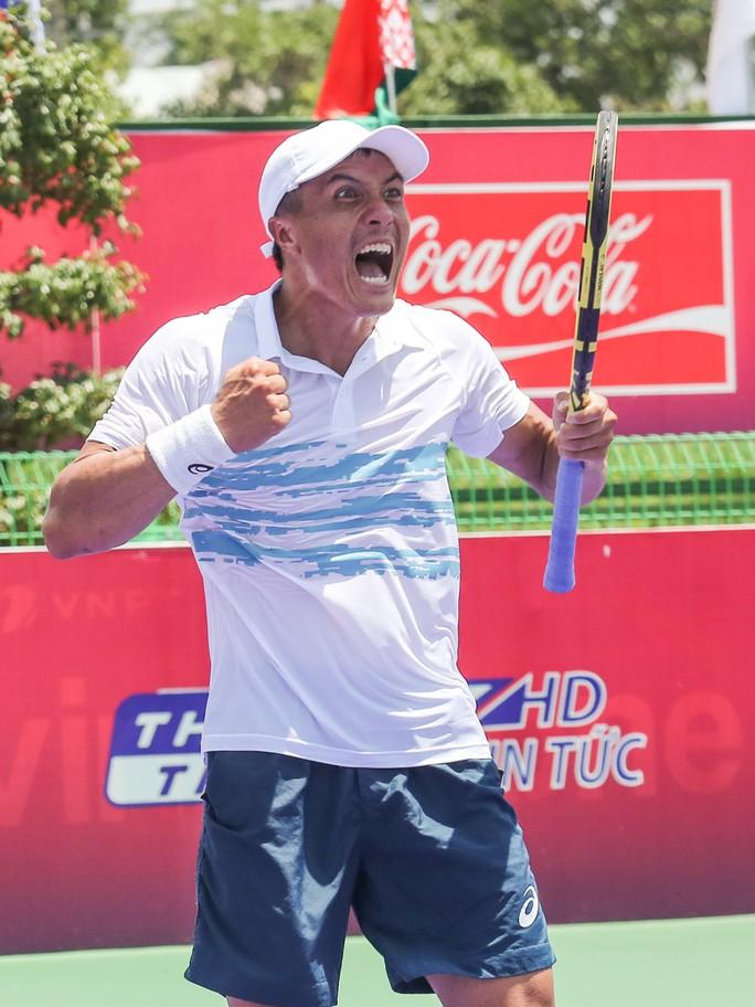 Thua hạt giống số 1, Hoàng Nam sớm chia tay ITF World Tennis Tour M25 - Ảnh 2.