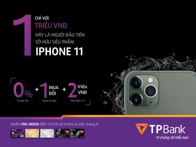 Giảm ngay 2 triệu đồng khi đặt mua Iphone 11 bằng thẻ tín dụng TBank - Ảnh 1.