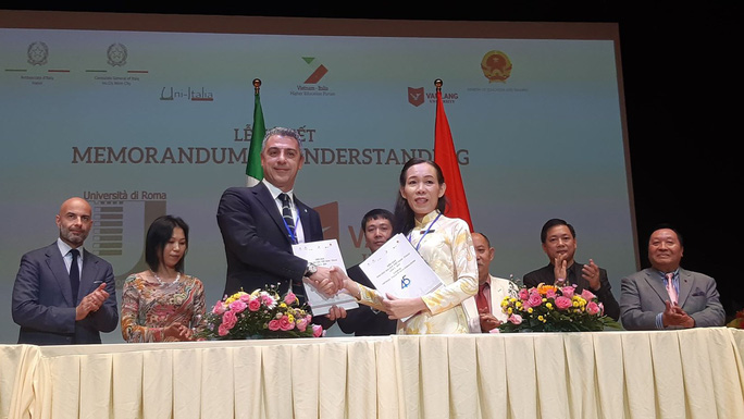 Thúc đẩy dịch chuyển sinh viên Việt Nam - Italia - Ảnh 1.