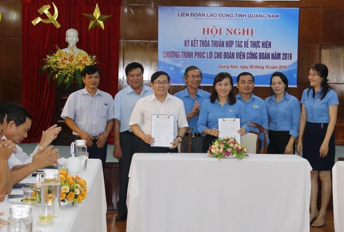 Đoàn viên công đoàn Quảng Nam được hưởng nhiều ưu đãi vừa được ký kết - Ảnh 1.