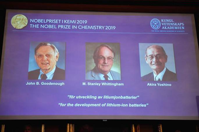 Nobel Hóa học 2019 vinh danh bước tiến lớn của nhân loại - Ảnh 1.