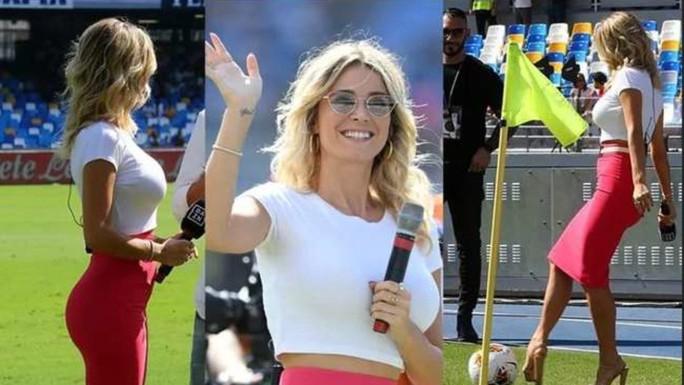 Đường cong tuyệt mỹ của cô nàng MC thể thao nước Ý - Ảnh 4.