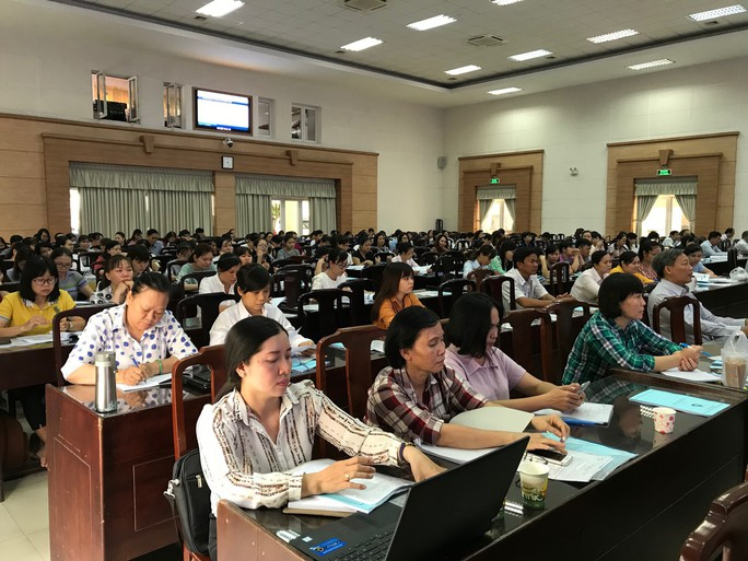 Quận Bình Tân: Sẽ thực hiện thanh toán điện tử các khoản thu học phí - Ảnh 1.