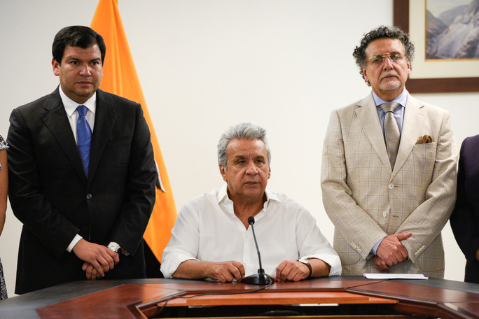 Ecuador: Biểu tình bạo lực, tổng thống rời khỏi thủ đô - Ảnh 1.