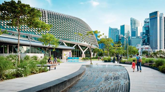Qua mặt Mỹ, Singapore trở thành nền kinh tế cạnh tranh nhất - Ảnh 1.