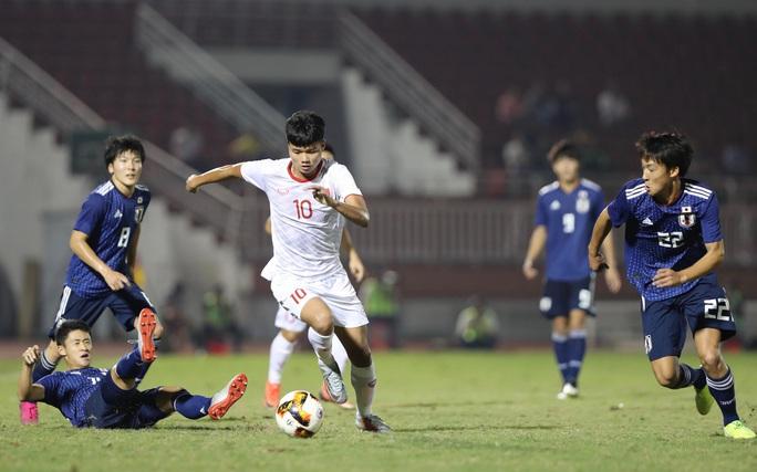 U19 Việt Nam xuất sắc cầm hòa Nhật Bản, hy vọng lấy vé vào VCK U19 châu Á 2020 - Ảnh 1.