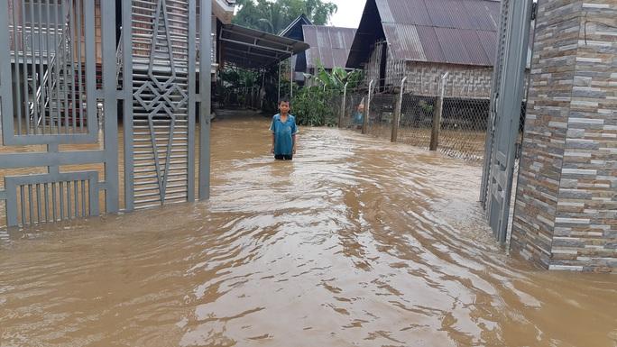 Đắk Lắk: Hàng trăm nhà dân chìm trong nước lũ - Ảnh 11.