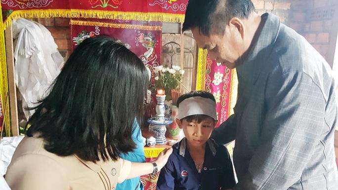 Người cha trẻ ra đi bỏ dở dự định kiếm tiền cho con tròn nụ cười - Ảnh 3.