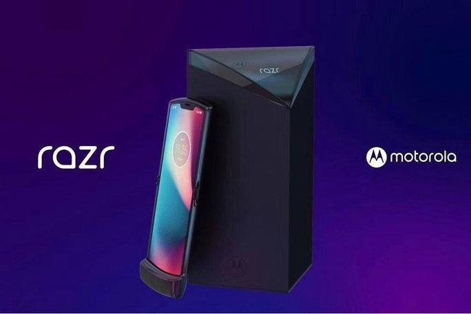 Motorola hé mở siêu phẩm nắp gập RAZR 2019 - Ảnh 1.